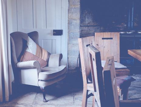 cottage inrichting