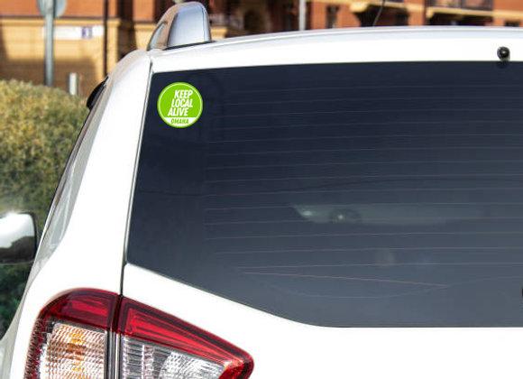 copy of KLA Window Sticker