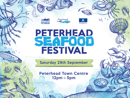 Peterhead to host a bountiful seafood festival this September.