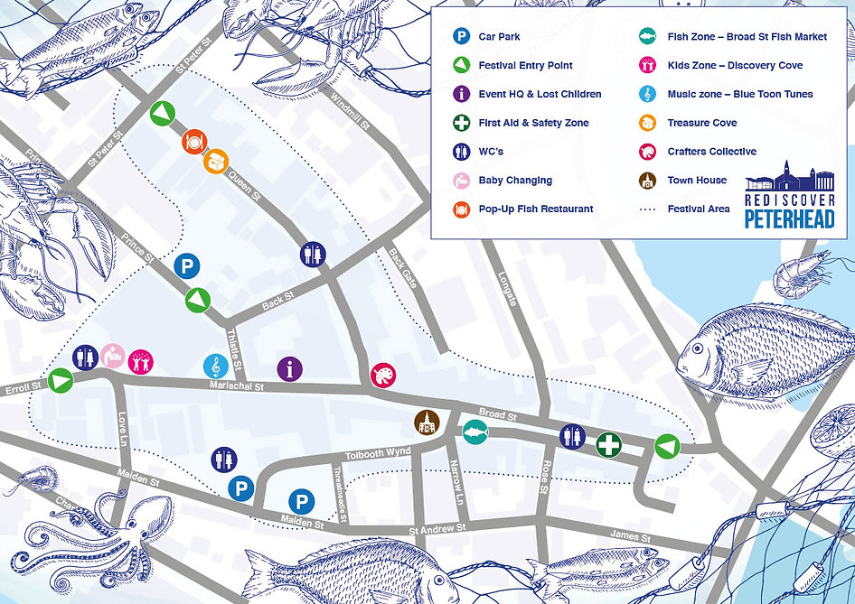 A3 Peterhead Seafood Festival Map 2019-0