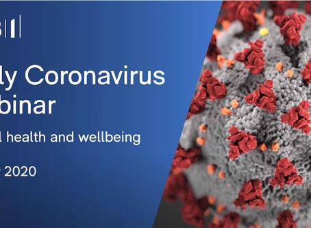 CBI Coronavirus Webinar - Mental Health and Wellbeing