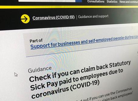 Coronavirus Statutory Sick Pay Scheme Opens