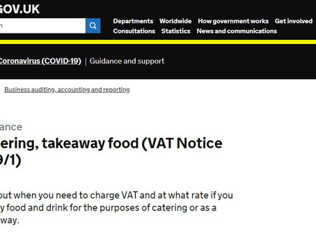 (COVID-19) VAT Guidance Update: reduced rate for hospitality, holiday accommodation and attractions