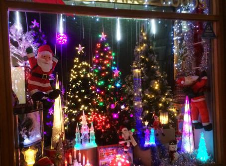 Christmas window display competition