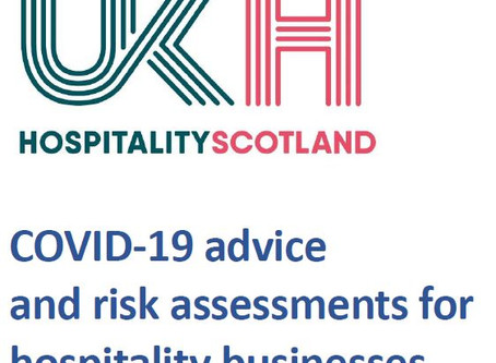 Hospitality Scotland: COVID-19 Advice