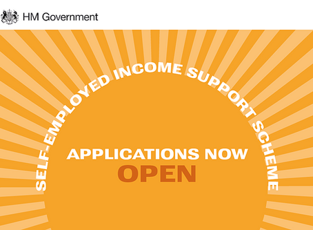 Self-Employment Support Scheme Now Open