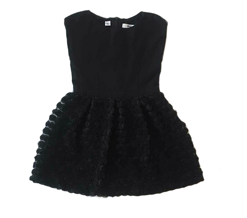 MARESE_ROBE NOIRE TULLE_3A