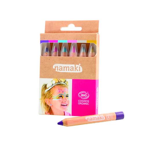 Kit 6 crayons maquillage Mondes Enchantés