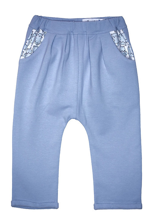 Papa de Jojo_Pantalon Jogging Bleu