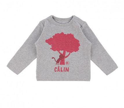 LQDC_T-shirt chêne gris chiné