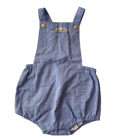 SERGENT MAJOR_BARBOTEUSE CHAMBRAY_6M (NEUF)