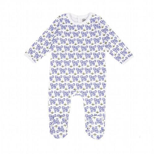 BRAI_Pyjama TIGRE Bleu