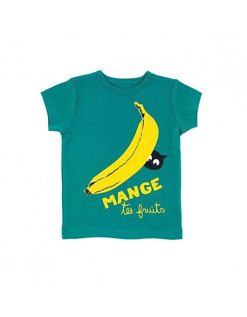LQDC_T-shirt Bébé vert banane