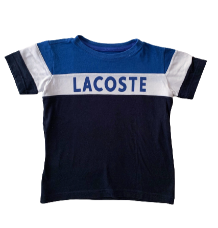 LACOSTE_TSHIRT BLEU BLANC_4A