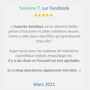 Avis 3 - Mars 2021