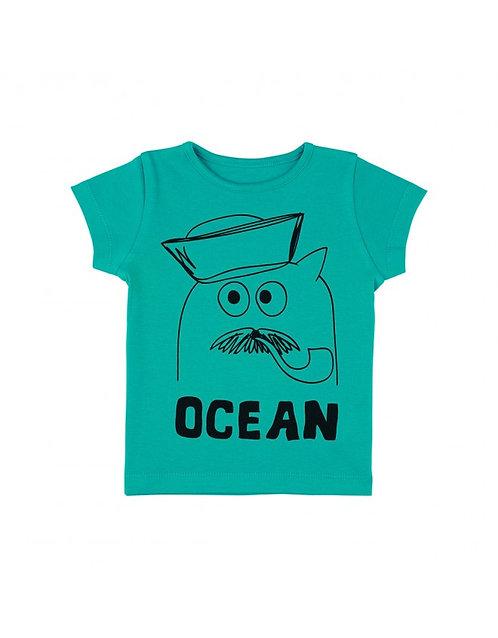 LQDC_Tshirt Vert Océan