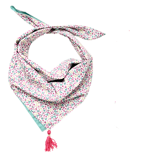 Foulard / Chèche Les Ptites Fleurs