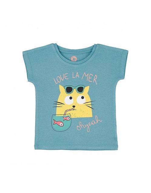 LQDC_Tshirt Bebe Bleu Bretagne
