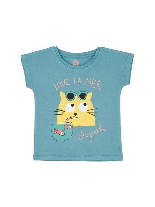 LQDC_Tshirt Enfant Bleu Bretagne