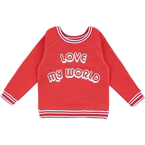 LQDC_Sweatshirt Rouge Cayenne