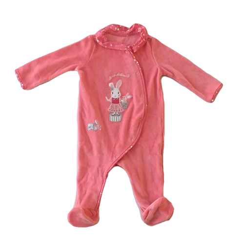 SERGENT MAJOR_PYJAMA VELOURS ACADABRA_9M