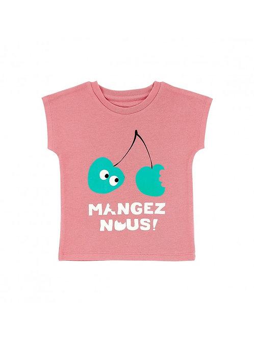 LQDC_T-shirt blush mangez nous