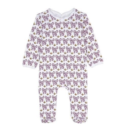 BRAI_Pyjama TIGRE Rose