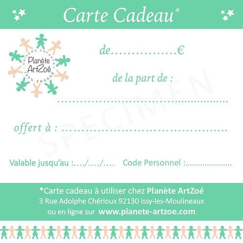 *** CARTE CADEAU ***