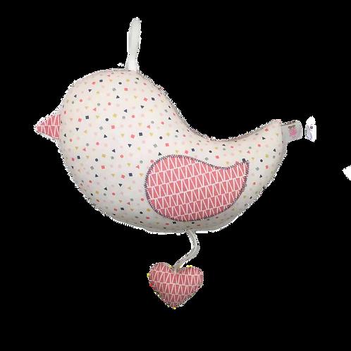 Oiseau Musical - Rose