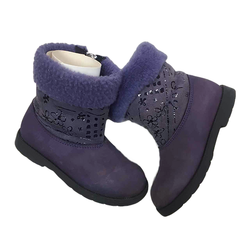LITTLE MARY_BOTTES FOURREES VIOLET_P26