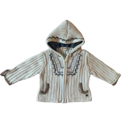 KENZO_GILET CAPUCHE MAILLE_3M