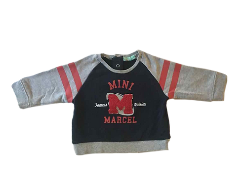 MINI MARCEL_SWEAT M RELIEF_12M