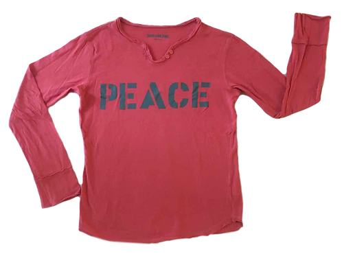 ZADIG & VOLTAIRE_TSHIRT PEACE_10A
