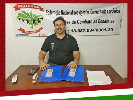 Alexsandro Lopes assume a presidência da FENASCE