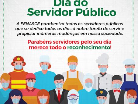 FENASCE parabeniza o Dia do Servidor Público