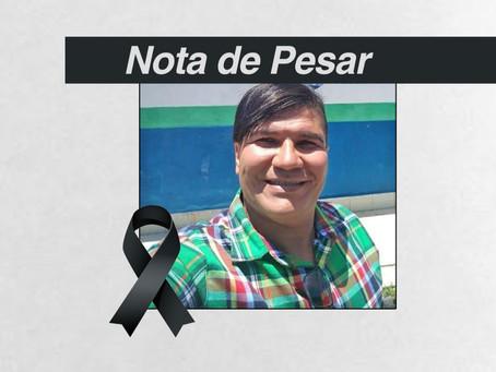 Nota de Pesar ao Falecimento de Roberto dos Santos (Diretor do SINDACS/AL e da FENASCE)