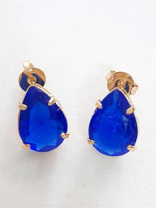 Brinco Gota Azul