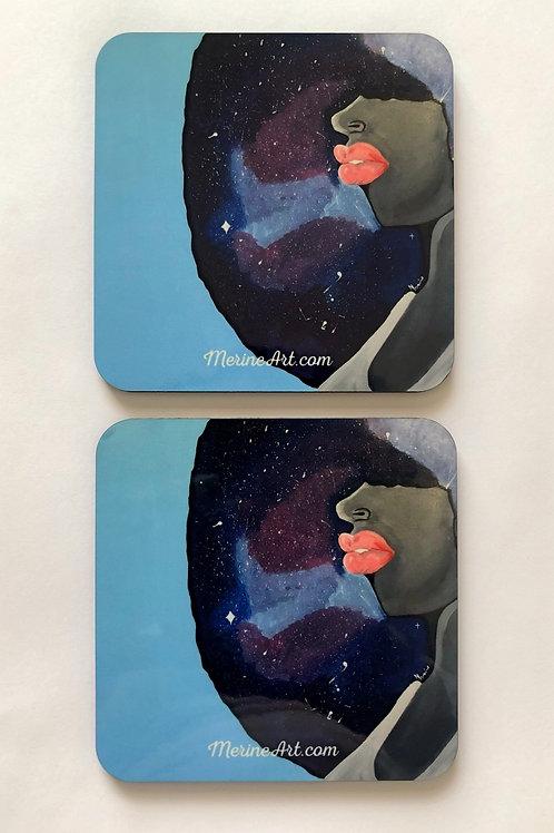 Black Girl Magic Coasters (4 pack)