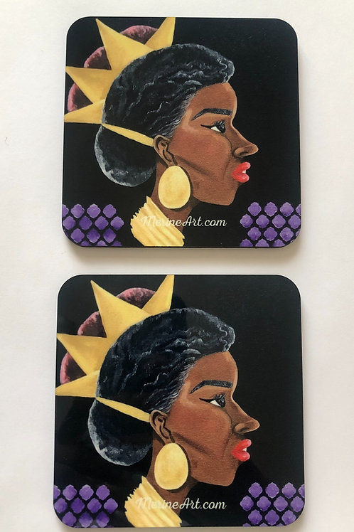 Queen: Visible Order Coasters (4 pack)