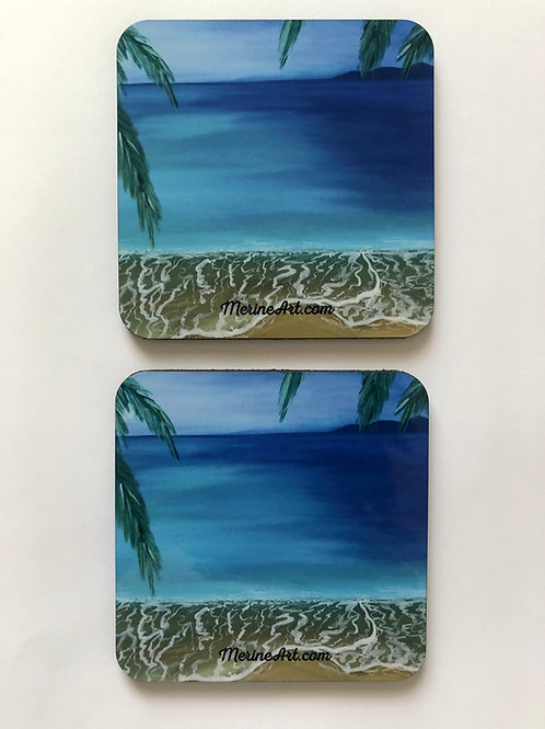 Beach Coasters (4 pack)