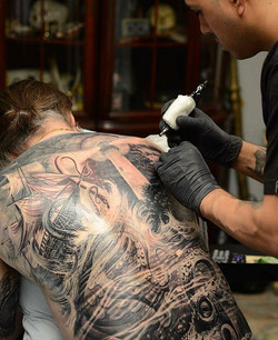 Nautical back piece
