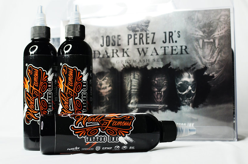 Jose Perez Jr. Grey Wash Set by World Famous Ink