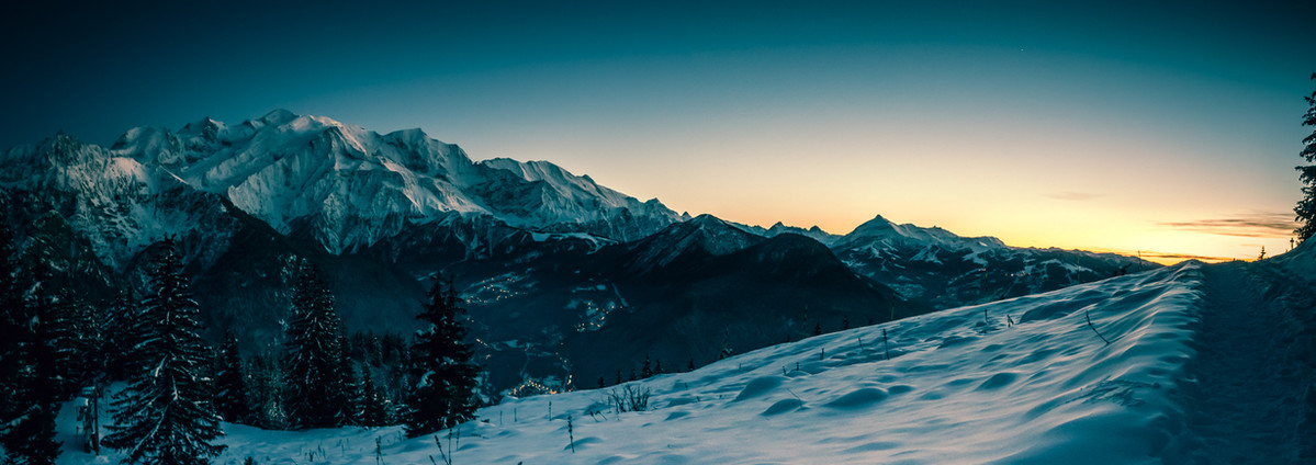 Panorama Mont Blanc - Passy Plaine Joux