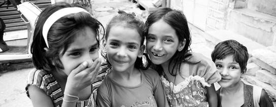 portrait enfants Inde
