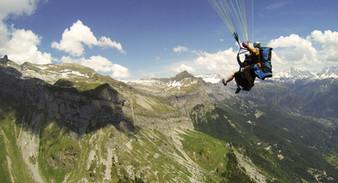 photographe outdoor - Parapente Haute Savoie