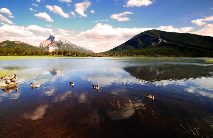 Vermillion lakes - Banff- Canada