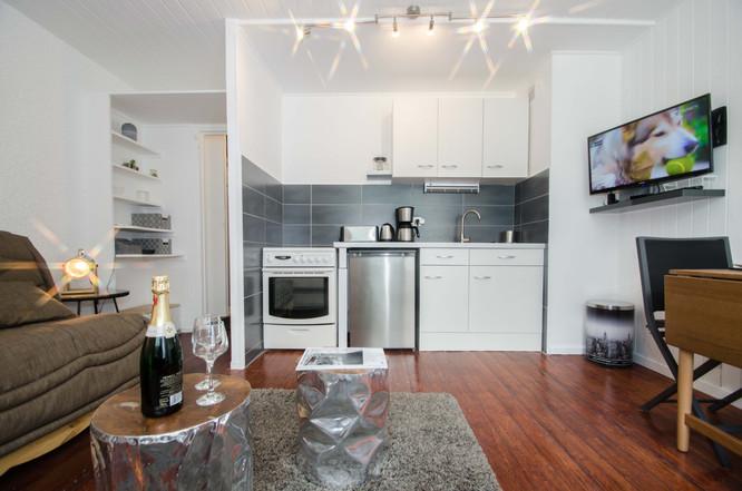 intérieur studio Chamonix- photographe immobilier