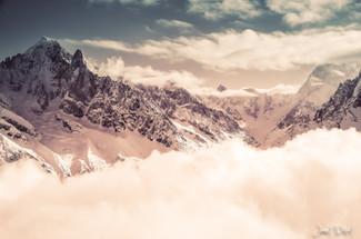 photographe outdoor - vue Chamonix