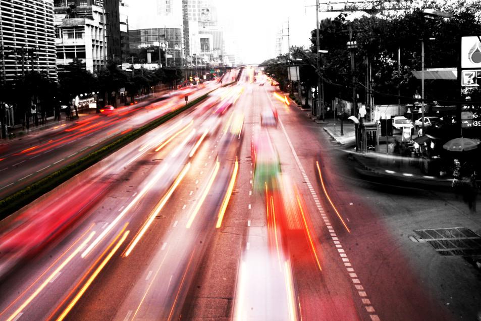 Bangkok light painting