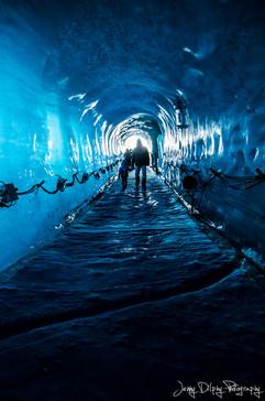 Grotte de glace - Chamonix - Haute Savoie - Alpes